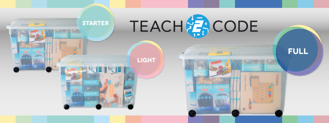 Complete lespakket voor de Ozobot van Teach2Code