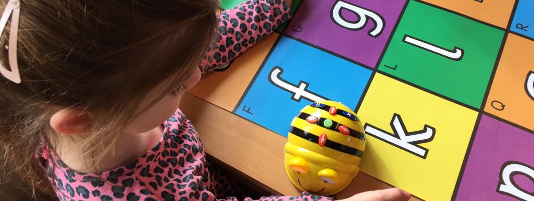 Speelmatten voor de Bee-Bots