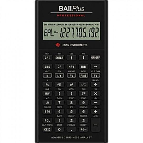 Texas Instruments BAII Plus Professional