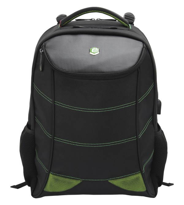 Bestlife 17″ Gaming Backpack 'Snake Eye' (groen)