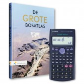 De Grote Bosatlas 55e Editie met Casio FX-82ESPLUS