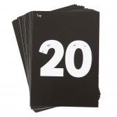 Kaarten voor Verlicht Tekenbord: Nummers