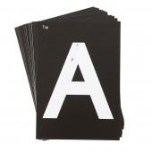 Kaarten voor Verlicht Tekenbord: Hoofdletters