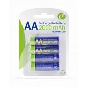 Batterijen oplaadbaar AA (4 stuks)