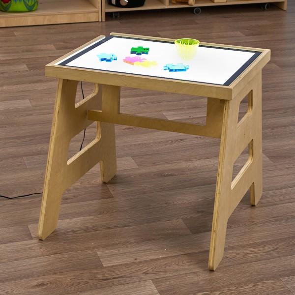 Opvoubare lichtpaneel-tafel