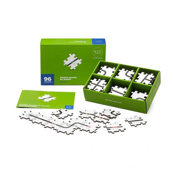 Programmeer de Ozobot met houten puzzels!