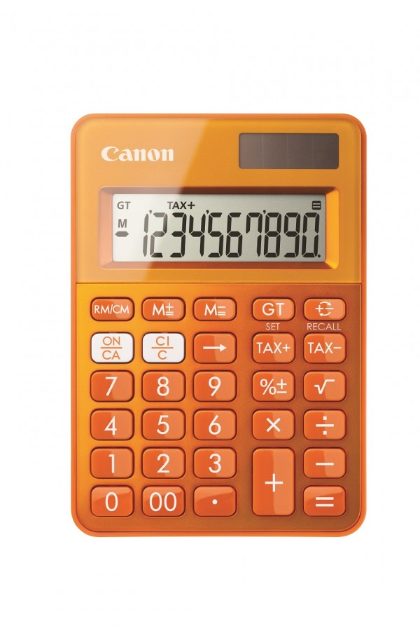Canon Ls 100k Rekenmachine Oranje