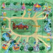 Pro-Bot Amusement Park Mat