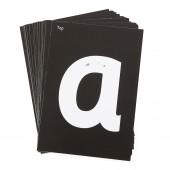 Kaarten voor Verlicht Tekenbord: Alfabet